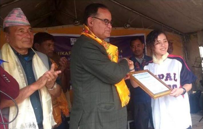 ネパールのメディア「YAMBHU TIMES」にHIKARI SONG GIFT vol.4 のことが掲載されました。